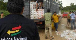 ADUANA COMISÓ BS 421 MILLONES EN MERCANCÍAS DE CONTRABANDO