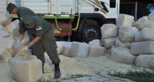 ARGENTINA: DECOMISARON MÁS DE 5.000 KILOS DE MARIHUANA OCULTOS EN CAJONES DE MADERA