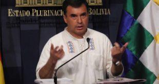 Juan Ramón Quintana, ministro de la Presidencia. (Foto: ABI)