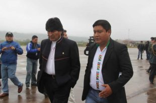 ARCHIVO. José Quecaña gestiona ante el Gobierno el financiamiento de los proyectos.