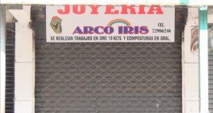 YACUIBA: DOS PERSONAS DETENIDAS POR EL ROBO A JOYERÍA ARCOÍRIS