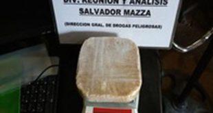 SALTA: MÁS DE 5 MIL DOSIS DE DROGA SECUESTRADAS EN OPERATIVOS POLICIALES