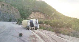 ACCIDENTE EN LA CARRETERA AL CHACO DEJA 14 PERSONAS HERIDAS
