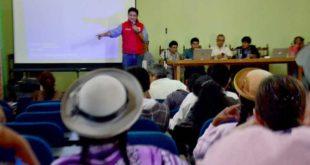 TARIJA: INICIAN PROCESO DE SOCIALIZACIÓN SOBRE ESTADO FINANCIERO DEL GOBIERNO DEPARTAMENTAL