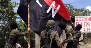 EL GRUPO TERRORISTA DEL ELN SE ATRIBUYÓ UN ATAQUE CON EXPLOSIVOS CONTRA UNA PATRULLA MILITAR EN COLOMBIA