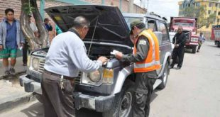 POLICÍA AMPLÍA INSPECCIÓN TÉCNICA VEHICULAR HASTA EL 24 DE MARZO