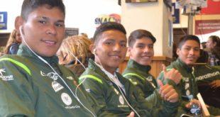 SELECCIÓN BOLIVIANA SUB-17 YA SE ENCUENTRA EN CHILE