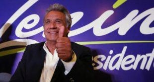 ELECCIONES ECUADOR: LENÍN MORENO SACA AMPLIA VENTAJA SOBRE GUILLERMO LASSO, PERO HASTA EL MOMENTO HAY BALLOTAGE