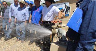 MÁS DE 500 FAMILIAS DE COMUNIDAD EL RANCHO SE BENEFICIAN CON SISTEMA DE AGUA POTABLE EN TARIJA