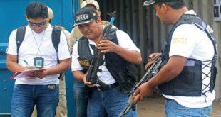 ENVÍAN A PALMASOLA A SEIS ACUSADOS DE TRÁFICO DE ARMAS EN BOLIVIA