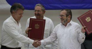 GOBIERNO DE COLOMBIA Y FARC REVISAN IMPLEMENTACIÓN DE ACUERDO DE PAZ