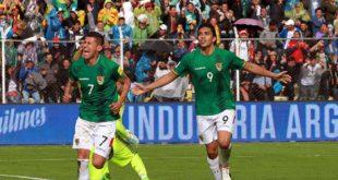 BOLIVIA SE HACE FUERTE ANTE ARGENTINA Y GANA POR 2-0