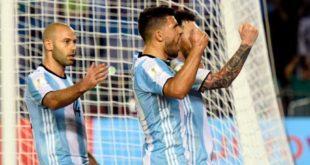 ARGENTINA VENCE A CHILE 1-0 Y ENTRA EN ZONA CLASIFICATORIA