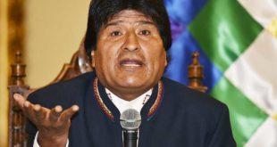 MORALES PIDE A BACHELET PRESENTAR LOS CAMIONES Y SU CARGA INVOLUCRADOS EN ENCARCELAMIENTO DE BOLIVIANOS