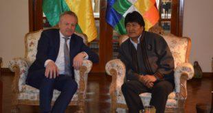 SHELL RATIFICA COMPROMISO DE EXPLORAR HIDROCARBUROS EN BOLIVIA