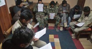 ORGANIZACIONES DE CHILE CONVOCAN A MOVILIZACIONES CON LA CONSIGNA 'EN BOLIVIA HOY FALTAN NUEVE'