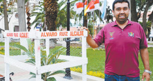 ALCALDE DE URIONDO FIRMA CONVENIO PARA REGULARIZAR SERVICIO DE ASEO URBANO