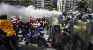 SUBE A 27 LA CIFRA DE MUERTOS EN MEDIO DE PROTESTAS Y DISTURBIOS EN VENEZUELA