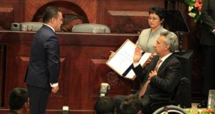 LENÍN MORENO ES POSESIONADO COMO PRESIDENTE DE ECUADOR