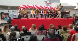 TARIJA: GOBERNADOR OLIVA ENTREGA BLOQUE DE LA UNIDAD DEL QUEMADO