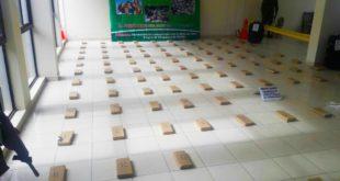 TARIJA: FELCN INCAUTA 118 KILOS DE MARIHUANA