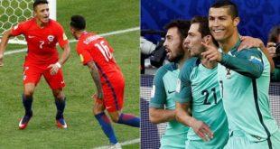 CONFEDERACIONES: CHILE SE MIDE ANTE  PORTUGAL POR UN BOLETO A LA FINAL