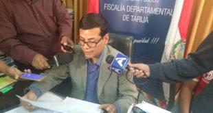 FISCALÍA ADMITE DENUNCIA CONTRA DEL GOBERNADOR DE TARIJA Y TRES SECRETARIOS