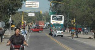 VECINOS DE METÁN Y GÜEMES AMENAZAN CON CORTES SI CAMBIAN EL TRAZADO DE LA NUEVA RUTA 9/34