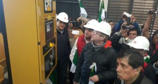 NUEVO GENERADOR RESOLVERÁ LOS PROBLEMAS DE ENERGÍA EN LA CIUDAD DE BERMEJO