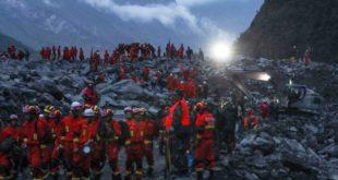 POCAS ESPERANZAS DE ENCONTRAR A LOS DESAPARECIDOS TRAS ALUD EN CHINA