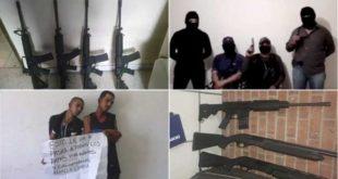 """MÉXICO, MÁS VIOLENTO: AHORA """"JUSTICIEROS"""" ENCAPUCHADOS SALEN A COMBATIR EL CRIMEN"""