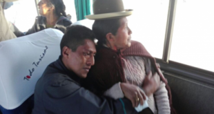 LOS 9 BOLIVIANOS RETORNARON Y SE REENCONTRARON CON SU FAMILIA
