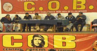 COB CONVOCA A UN AMPLIADO PARA ANALIZAR INCREMENTO DE TARIFAS ELÉCTRICAS
