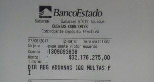 BOLIVIA PAGA DE MULTA DE LOS 9 BOLIVIANOS Y ESPERA SU RETORNO