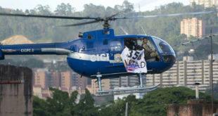 VENEZUELA: HELICÓPTERO SOBREVUELA Y DISPARA CONTRA EL TRIBUNAL SUPREMO