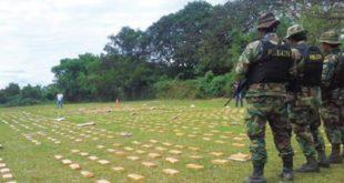 SANTA CRUZ: FUERZA ANTIDROGAS SECUESTRA 600 KILOS DE MARIHUANA Y 2.858 GRAMOS DE COCAÍNA
