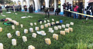 BENI: DECOMISAN UNA TONELADA DE COCAÍNA VALUADA EN 10 MILLONES DE DÓLARES