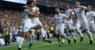 SUPERCOPA: REAL MADRID VENCIÓ 2-0 A BARCELONA Y SE CONSAGRÓ CAMPEÓN