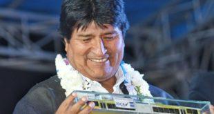 MORALES INAUGURA CONSTRUCCIÓN DE PRIMER TREN ELÉCTRICO METROPOLITANO DE BOLIVIA