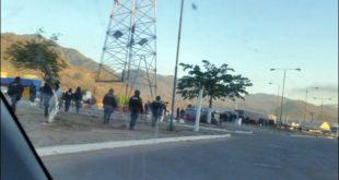 POLICÍA INTERVIENE EN CAMIRI Y DEJA EXPEDITA LA RUTA 9
