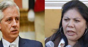 VICEPRESIDENTE RETA A PIÉROLA A PROBAR EXISTENCIA DE BASES MILITARES EXTRANJERAS EN BOLIVIA