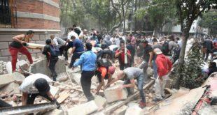 UN FUERTE TERREMOTO DE MAGNITUD 7,1 VUELVE A SACUDIR MÉXICO