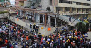 MÉXICO: LA DESESPERADA BÚSQUEDA DE NIÑOS ATRAPADOS