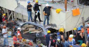 TERREMOTO EN MÉXICO: HAY AL MENOS 50 PERSONAS BAJO LOS ESCOMBROS EN LA CAPITAL