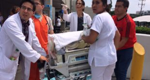 MÉXICO: UN BEBÉ NACE EN LA CALLE UN MINUTO DESPUÉS DEL TERREMOTO