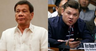 EL PRESIDENTE DE FILIPINAS ORDENA MATAR A SU HIJO, DENUNCIADO POR NARCOTRÁFICO