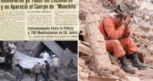"""AL IGUAL QUE """"FRIDA SOFÍA"""", TAMBIÉN HUBO UN """"NIÑO FANTASMA"""" EN EL TERREMOTO DE 1985"""