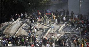 MÁS DE 220 MUERTOS POR EL POTENTE TERREMOTO EN MÉXICO