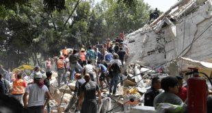 TERREMOTO EN MÉXICO: SUBIÓ A 319 EL NÚMERO DE FALLECIDOS