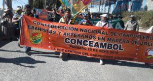 CARPINTEROS EXIGEN CIERRE DE FRONTERAS AL CONTRABANDO E IMPORTACIÓN DE MUEBLES